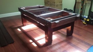 Pool and billiard table set ups and installations in Hershey Pennsylvania