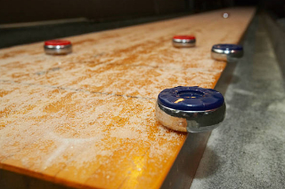 SOLO® Shuffleboard Movers Hershey, Pennsylvania.